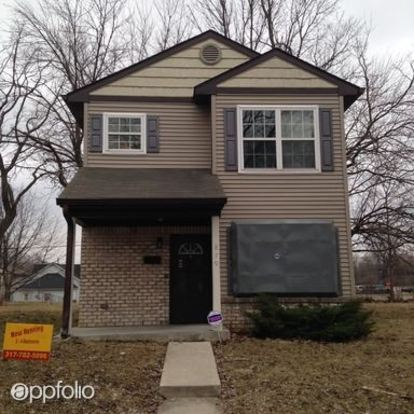 3 Bedrooms 1 Bathroom Apartment for rent at 4810 E 23rd Street in Indianapolis, IN