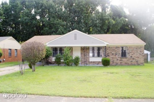 3 Bedrooms 1 Bathroom House for rent at 4566 Whiteside in Memphis, TN