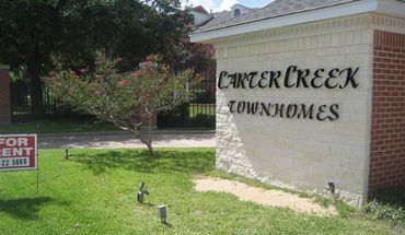 Carter Creek Town Homes