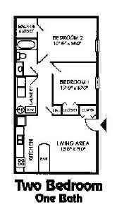 2 Bedrooms 1 Bathroom Apartment for rent at Bolton Estates in Columbus, OH