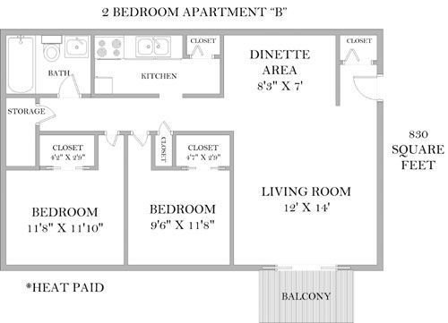 2 Bedrooms 1 Bathroom Apartment for rent at The Highlands in Cincinnati, OH