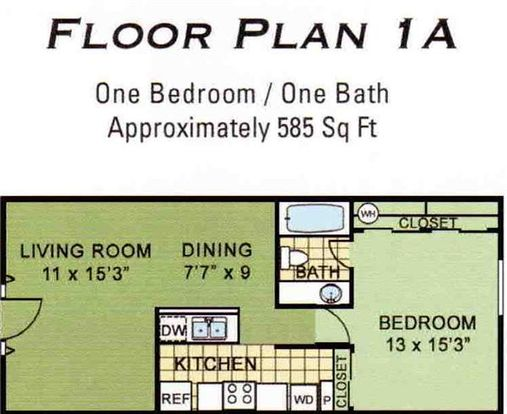 1 Bedroom 1 Bathroom Apartment for rent at Skyline Gateway Apartments in Tucson, AZ