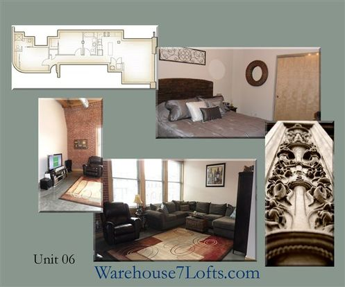 2 Bedrooms 2 Bathrooms Apartment for rent at Warehouse 7 Lofts in St Louis, MO