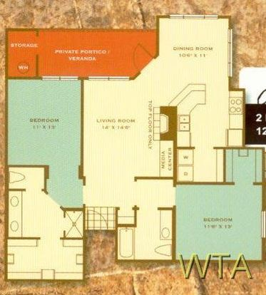 2 Bedrooms 2 Bathrooms Apartment for rent at 12345 Alameda Trace Cir in Austin, TX