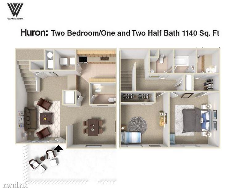 2 Bedrooms 1 Bathroom Apartment for rent at Silver Oak Apartments in Clarkston, GA