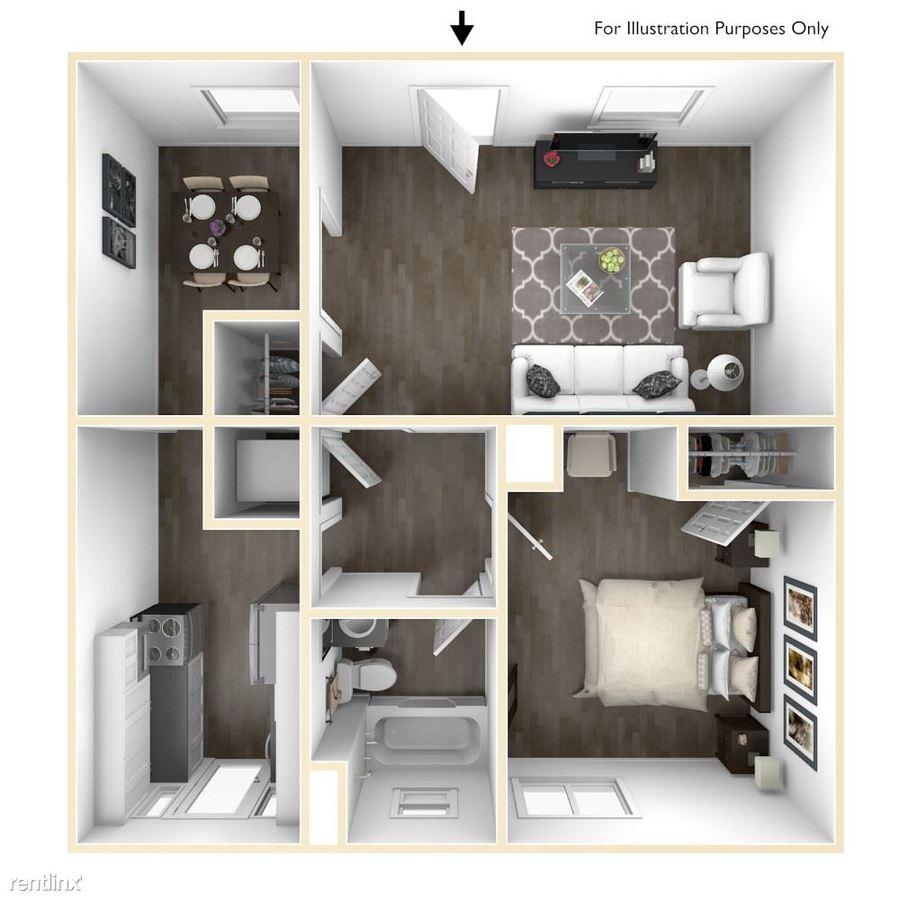 1 Bedroom 1 Bathroom Apartment for rent at Balfour Marietta in Marietta, GA