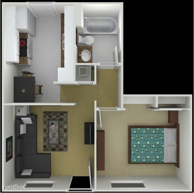 1 Bedroom 1 Bathroom Apartment for rent at Balfour Woodland in Smyrna, GA