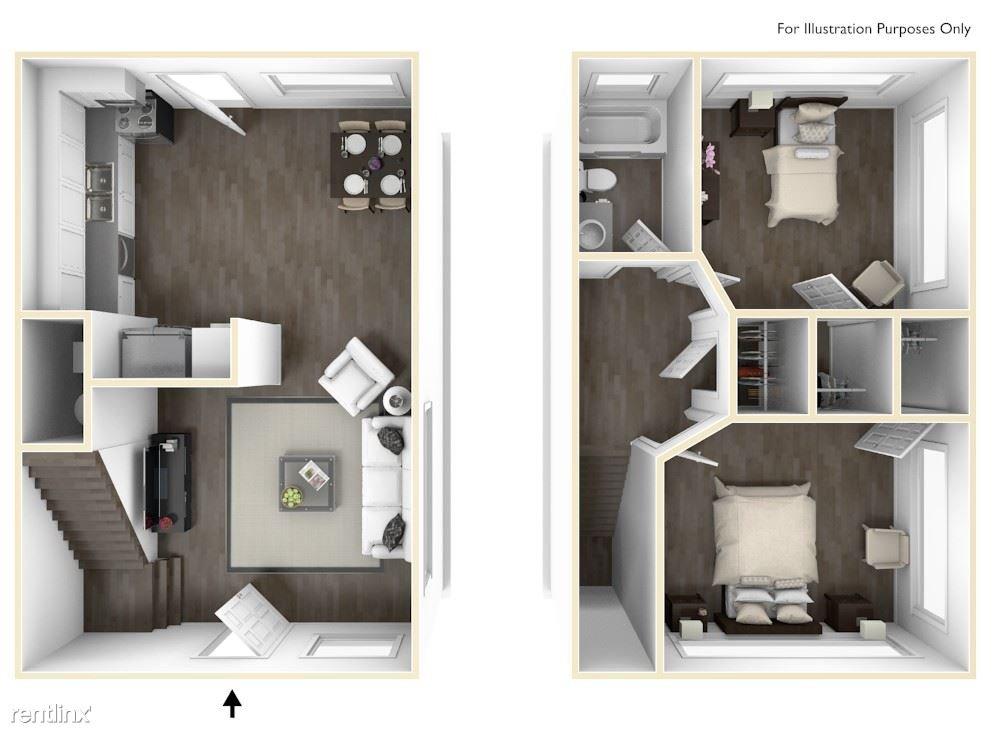 2 Bedrooms 1 Bathroom Apartment for rent at Balfour Chastain in Atlanta, GA