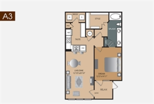 1 Bedroom 1 Bathroom Apartment for rent at Artisan at Brightleaf Apartments in Durham, NC