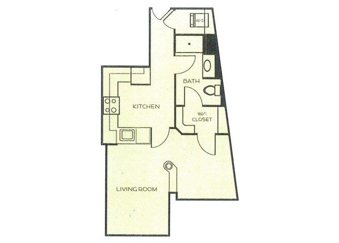 Studio 1 Bathroom Apartment for rent at Cedar Court Apartments in Gaithersburg, MD