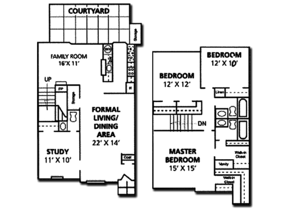 4 Bedrooms 2 Bathrooms Apartment for rent at Le Montreaux A Concierge Community in Austin, TX