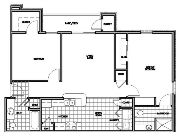 2 Bedrooms 2 Bathrooms Apartment for rent at Parkwood Apartments in Springfield, MO