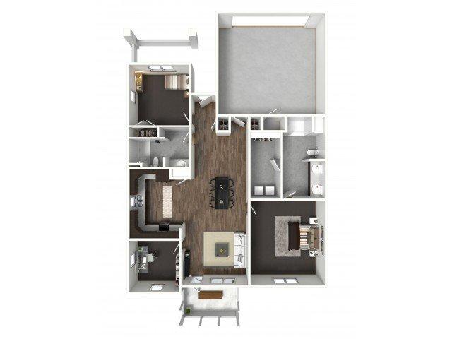 2 Bedrooms 2 Bathrooms Apartment for rent at Black Rock in Nixa, MO