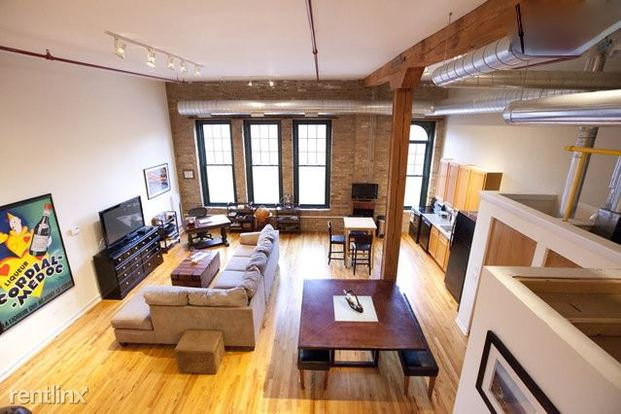 1 Bedroom 1 Bathroom Apartment for rent at 845 W Fulton Market in Chicago, IL