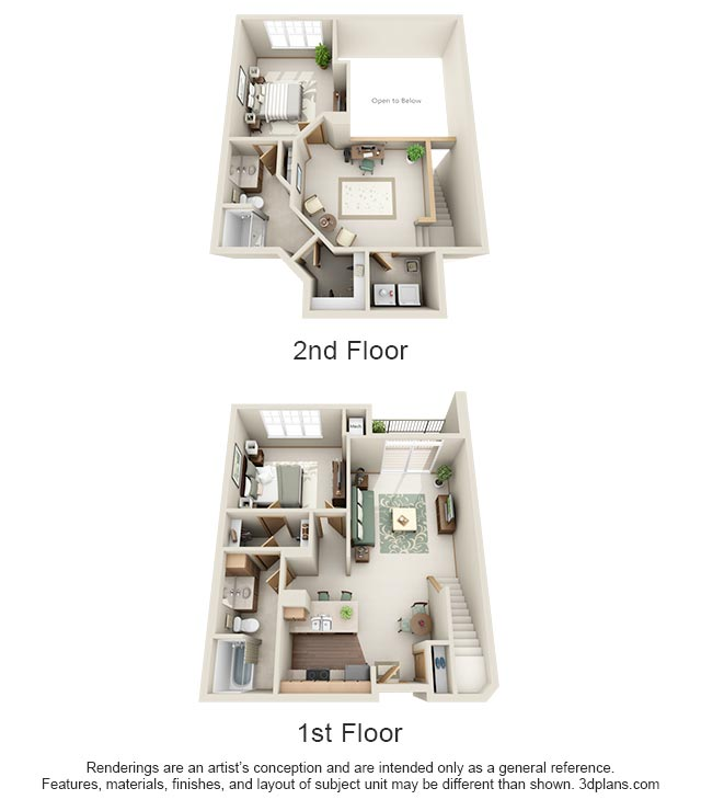 2 Bedrooms 2 Bathrooms Apartment for rent at Stone Creek Gardens in Madison, WI