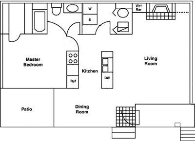 1 Bedroom 1 Bathroom Apartment for rent at Atrium in Durham, NC