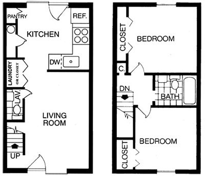 2 Bedrooms 2 Bathrooms Apartment for rent at Brook Hill Apartment Homes in Raleigh, NC