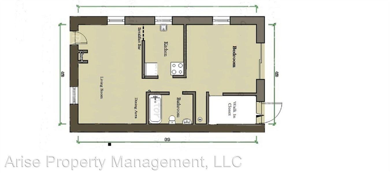 1 Bedroom 1 Bathroom Apartment for rent at 1175 Bentley Road in Leesburg, FL