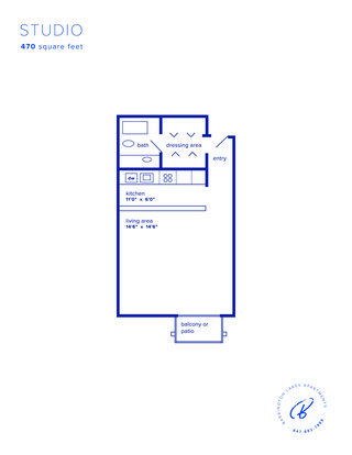 Studio 1 Bathroom Apartment for rent at Barrington Lakes Apartments in Hoffman Estates, IL