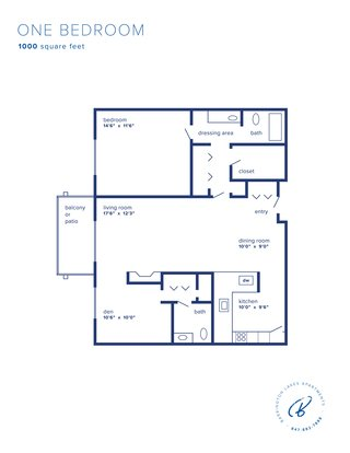 1 Bedroom 1 Bathroom Apartment for rent at Barrington Lakes Apartments in Hoffman Estates, IL