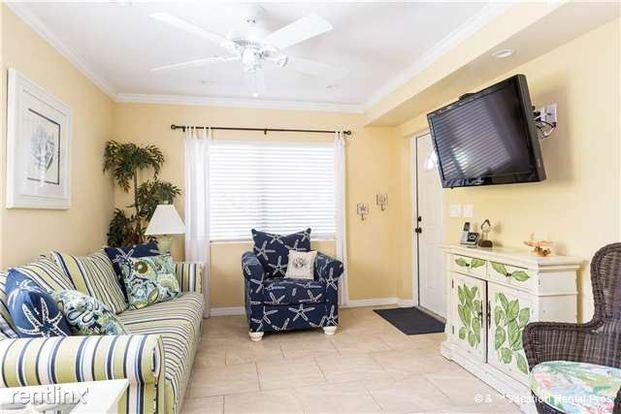1 Bedroom 1 Bathroom House for rent at Casa Bella B, 1 Bedroom, Ground Floor, Sleeps 4 in Ft Myers Beach, FL