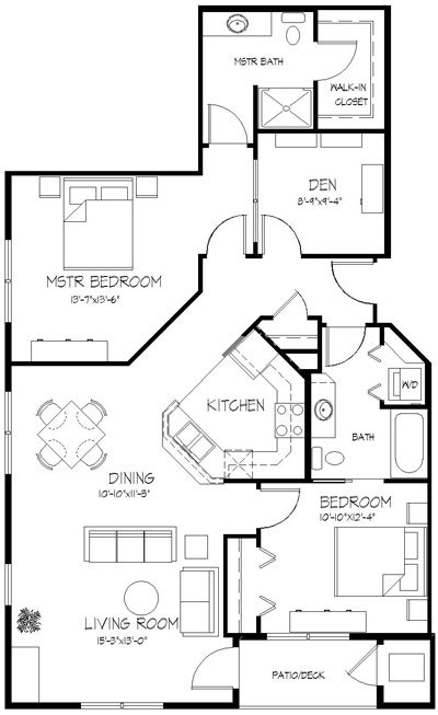 2 Bedrooms 2 Bathrooms Apartment for rent at Valencia Place in Middleton, WI