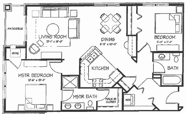 2 Bedrooms 2 Bathrooms Apartment for rent at Bel Mora in Madison, WI