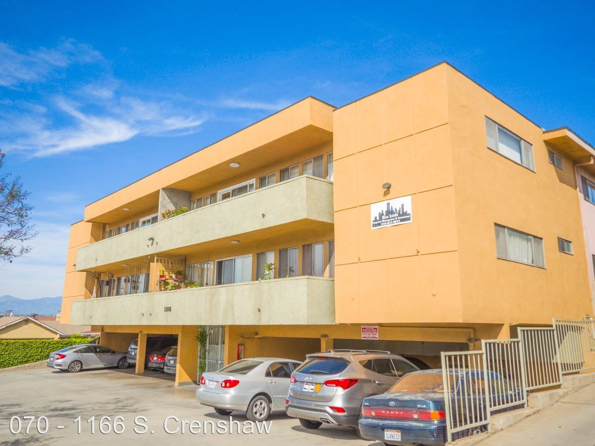 1 Bedroom 1 Bathroom Apartment for rent at 1166 S. Crenshaw Blvd. in Los Angeles, CA
