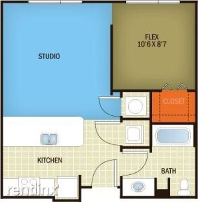 Studio 1 Bathroom Apartment for rent at Burnet Rd And North Loop Blvd in Austin, TX