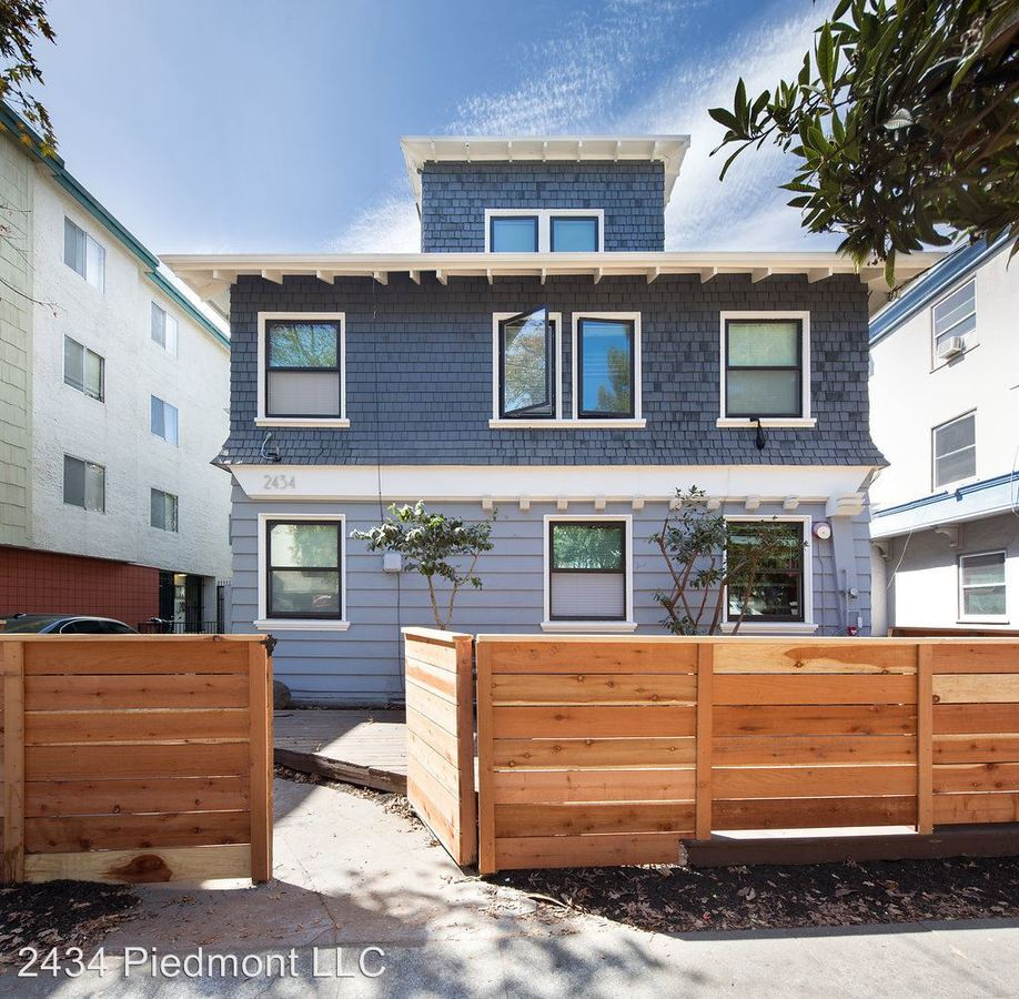1 Bedroom 4+ Bathrooms Apartment for rent at 2434 Piedmont Avenue in  Berkeley, CA