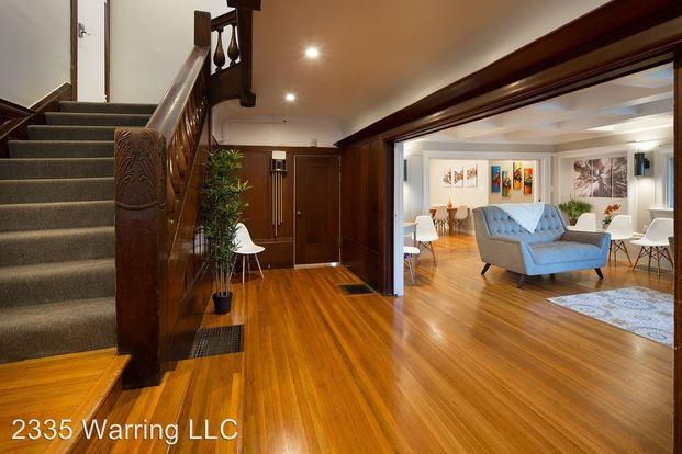 1 Bedroom 4+ Bathrooms House for rent at 2335 Warring Street in Berkeley, CA