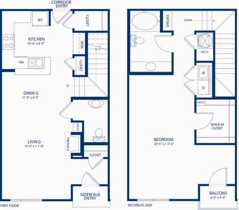 1 Bedroom 1 Bathroom Apartment for rent at Camden College Park in College Park, MD