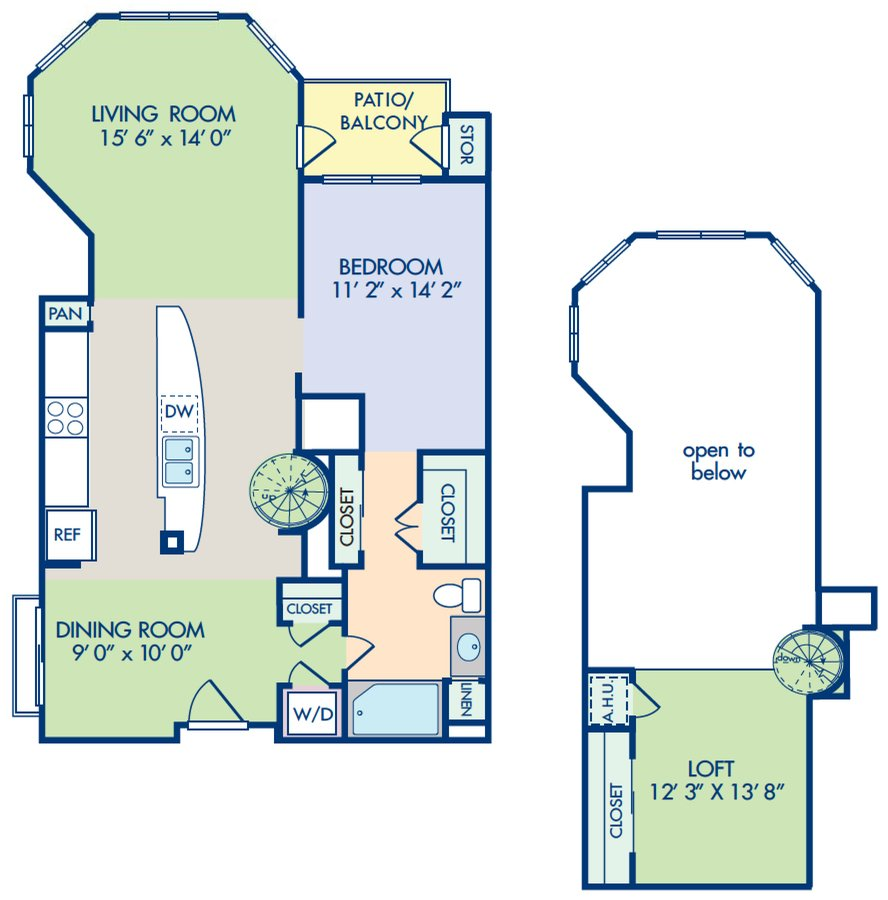 1 Bedroom 1 Bathroom Apartment for rent at Camden Main And Jamboree in Irvine, CA