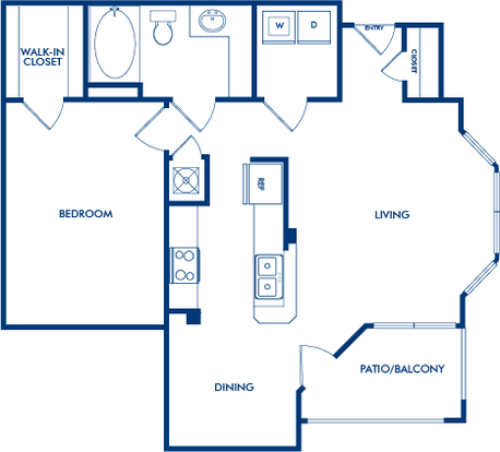 1 Bedroom 1 Bathroom Apartment for rent at Camden Phipps in Atlanta, GA