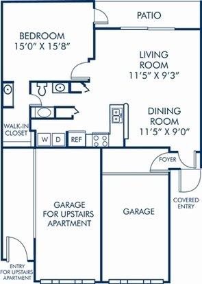 1 Bedroom 1 Bathroom Apartment for rent at Camden Plantation in Plantation, FL