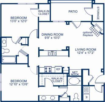 2 Bedrooms 2 Bathrooms Apartment for rent at Camden Deerfield in Alpharetta, GA
