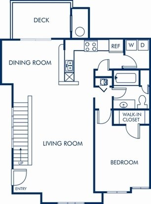 1 Bedroom 1 Bathroom Apartment for rent at Camden Lake Pine in Apex, NC