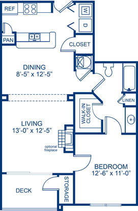 1 Bedroom 1 Bathroom Apartment for rent at Camden Crest in Raleigh, NC