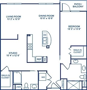 1 Bedroom 2 Bathrooms Apartment for rent at Camden Main And Jamboree in Irvine, CA