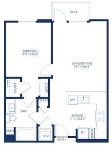 1 Bedroom 1 Bathroom Apartment for rent at Camden Glendale in Glendale, CA