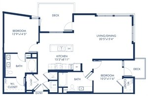 2 Bedrooms 2 Bathrooms Apartment for rent at Camden Glendale in Glendale, CA