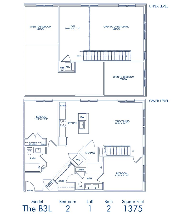 2 Bedrooms 2 Bathrooms Apartment for rent at Camden Washingtonian in Gaithersburg, MD