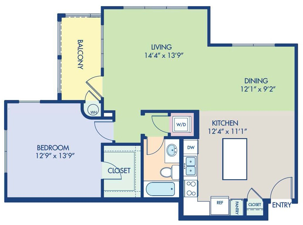 1 Bedroom 1 Bathroom Apartment for rent at Camden Foothills in Scottsdale, AZ