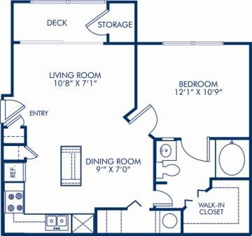 1 Bedroom 1 Bathroom Apartment for rent at Camden Dunwoody in Dunwoody, GA