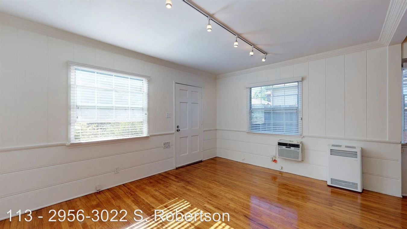 1 Bedroom 1 Bathroom Apartment for rent at 2956-3022 S. Robertson Blvd. in Los Angeles, CA