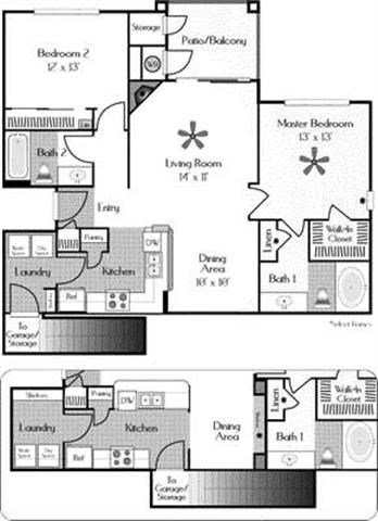 2 Bedrooms 2 Bathrooms Apartment for rent at The Legacy At Highlands Ranch Apartments in Highlands Ranch, CO