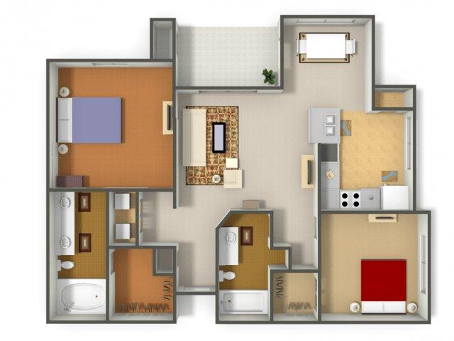 2 Bedrooms 2 Bathrooms Apartment for rent at Arboleda Apartment Homes in Cedar Park, TX