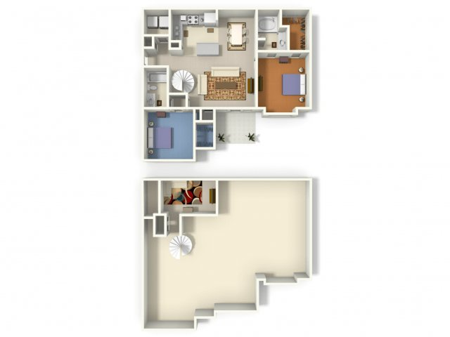 2 Bedrooms 2 Bathrooms Apartment for rent at Creekside Crossing Apartment Homes in Lithonia, GA