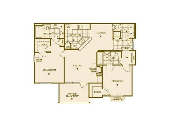 2 Bedrooms 2 Bathrooms Apartment for rent at Inman Park Apartments in Raleigh, NC