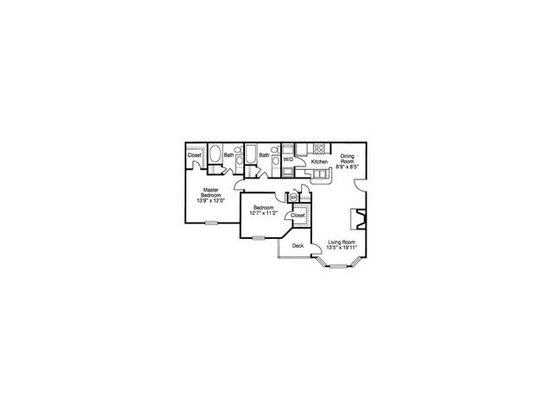 2 Bedrooms 2 Bathrooms Apartment for rent at Waterford Place in Nashville, TN
